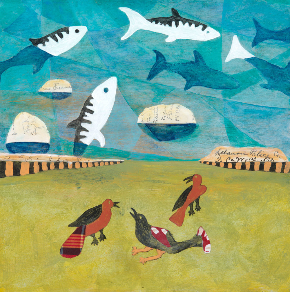 Wholly Mackerel - The Conversation at Sandy Point