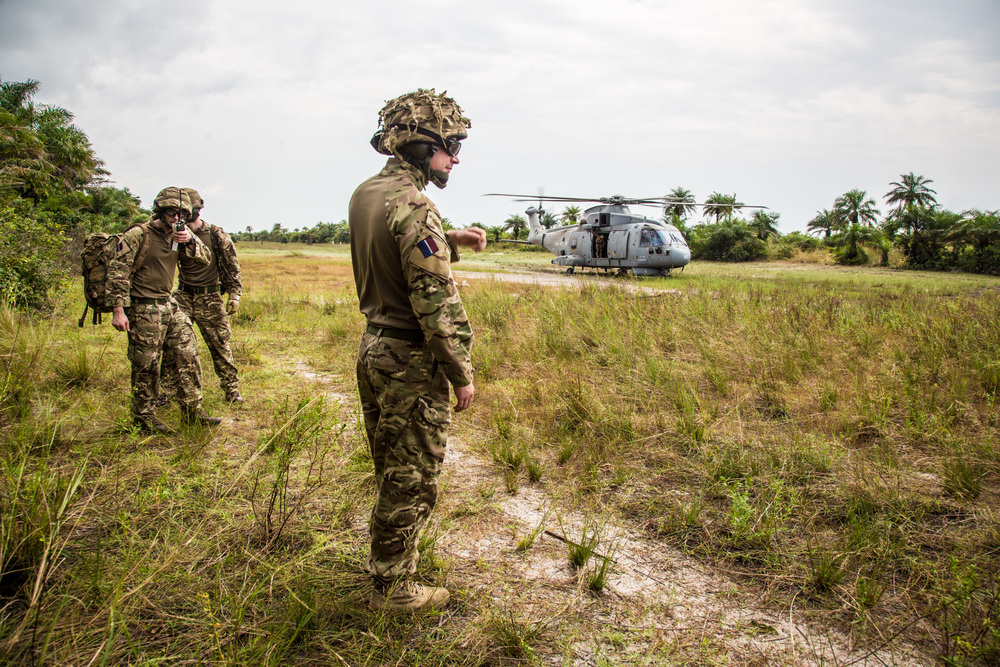 British military in Sierra Leone