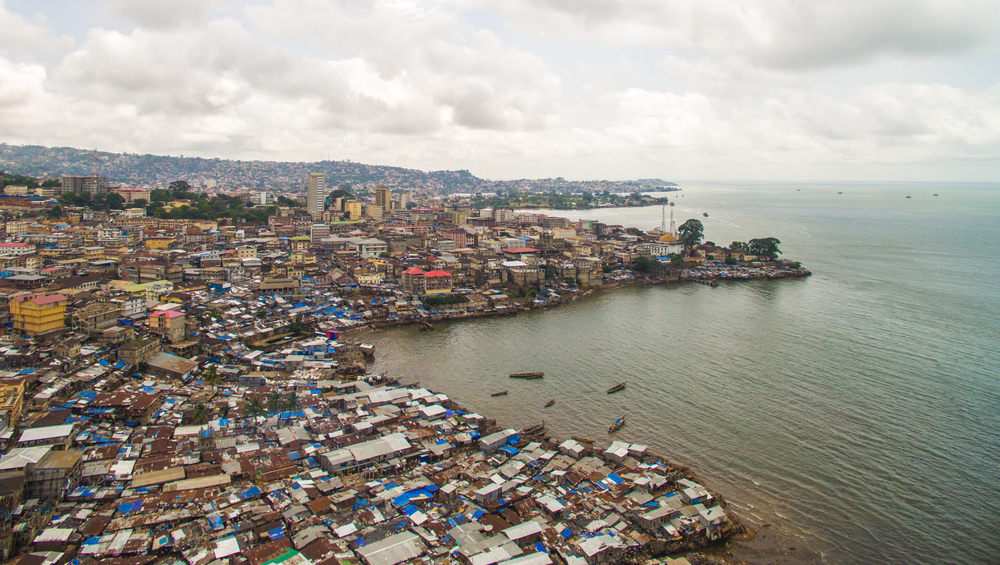 Freetown from the East