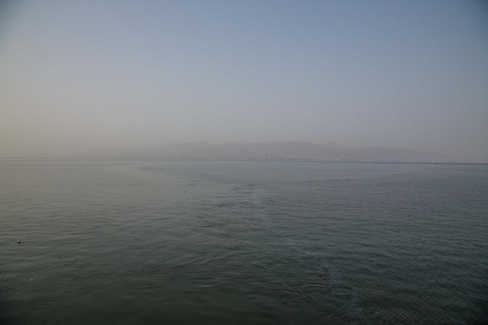 Freetown through the dusty harmattan