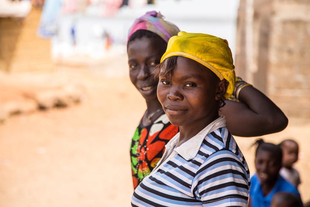 Ladies on Taso Island village 1