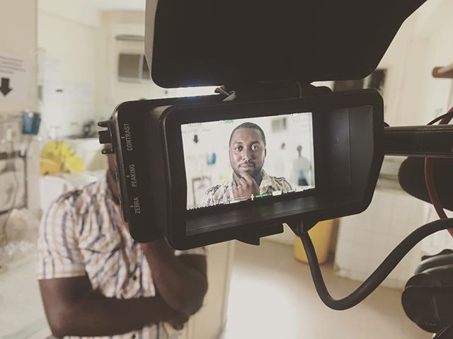 Filming at the Lassa Fever lab with Illumina #filmmaking #4k #science #genomesequencing #ebola #outbreak #documentary #sierraleone @sonyprousa #sonyfs7 #primelens #slog3