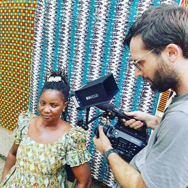 Profiling female entrepreneurs in Sierra Leone #filmmaking #onlocation #entrepreneur #sierraleone #westafrica #fs7 #smallhd #sonyfs7 #africa #womeninbiz