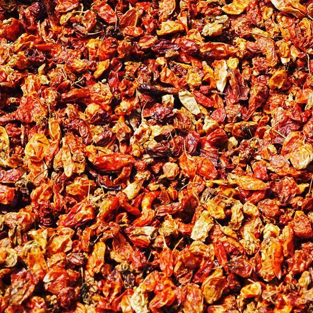 Dried chilli #market #Liberia #africa #food #chilli