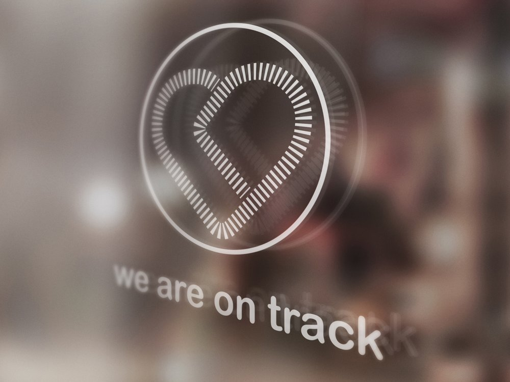 We are on track
