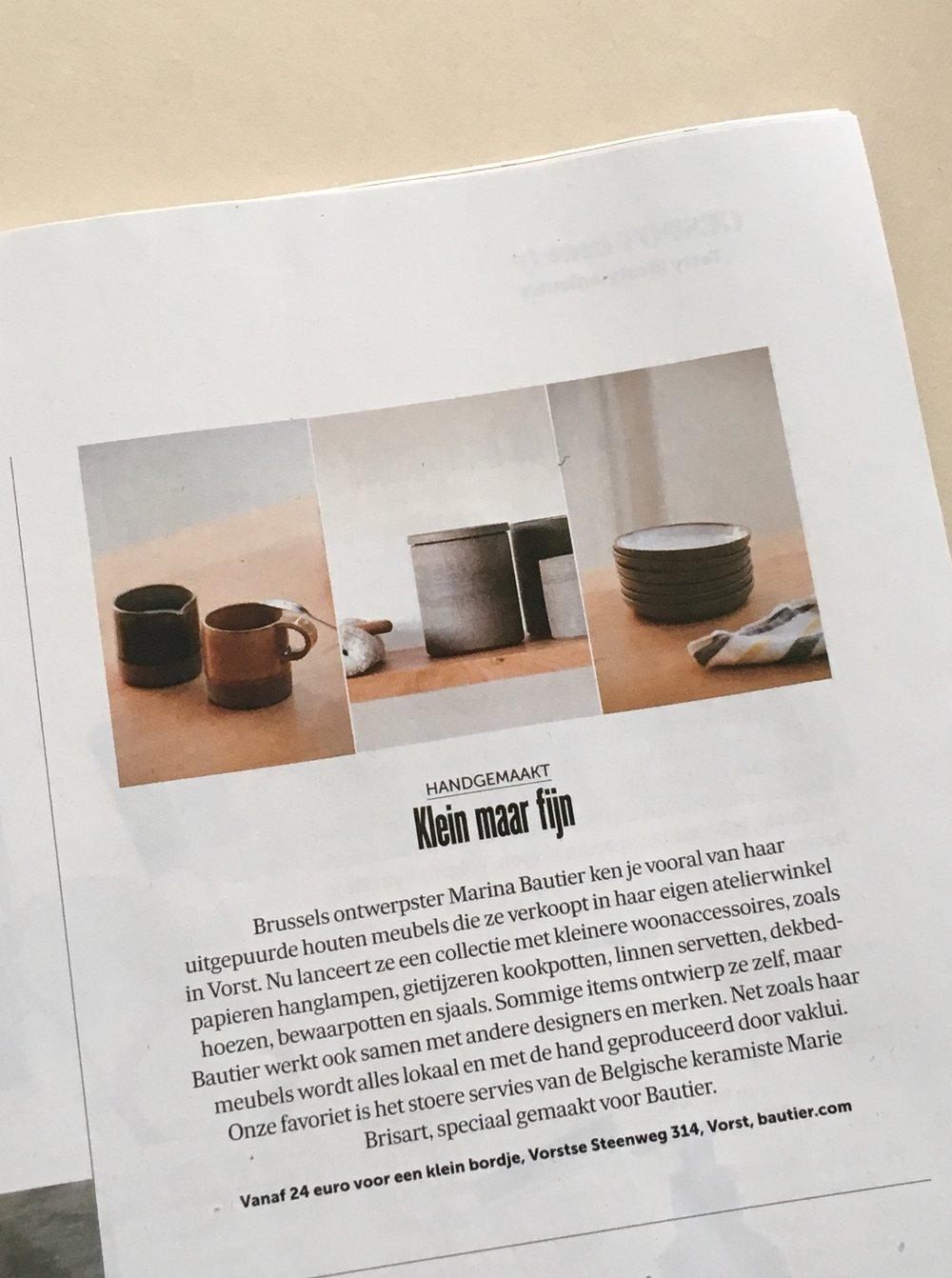 De Morgen Magazine - Bautier
