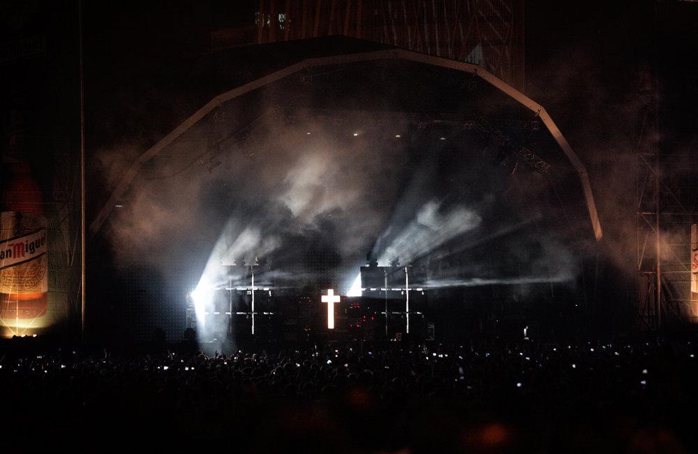 JUSTICE Primavera Sound Festival Barcelona 2012