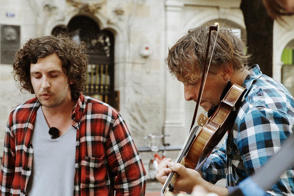 YANN TIERSEN  2012 in Barcelona