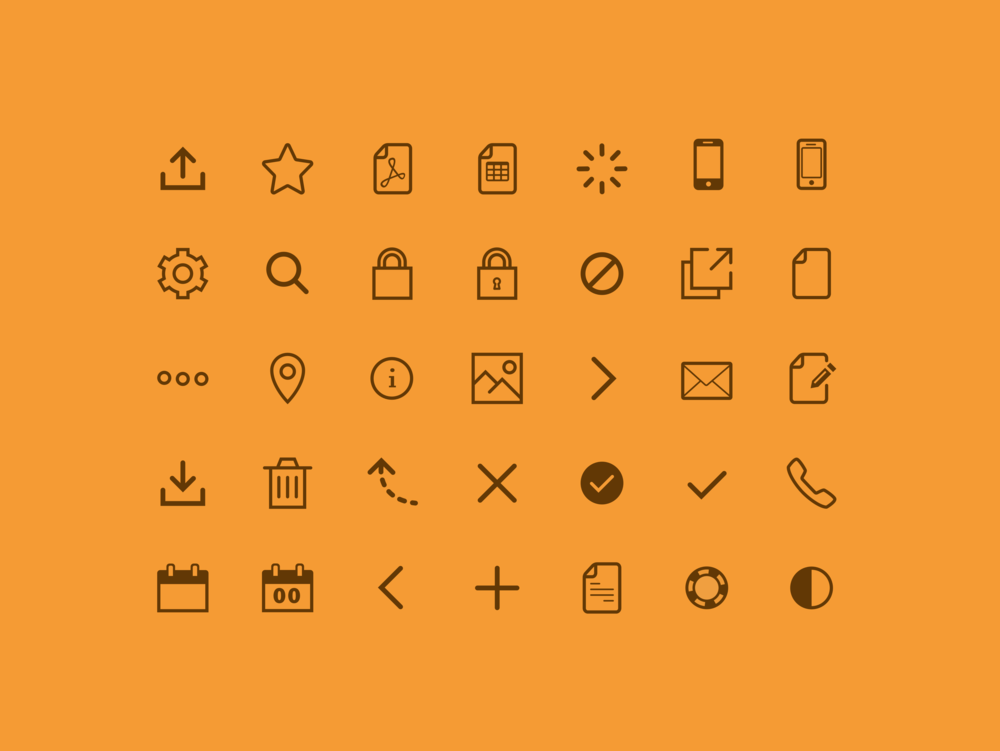 Zenicon  Icon Font