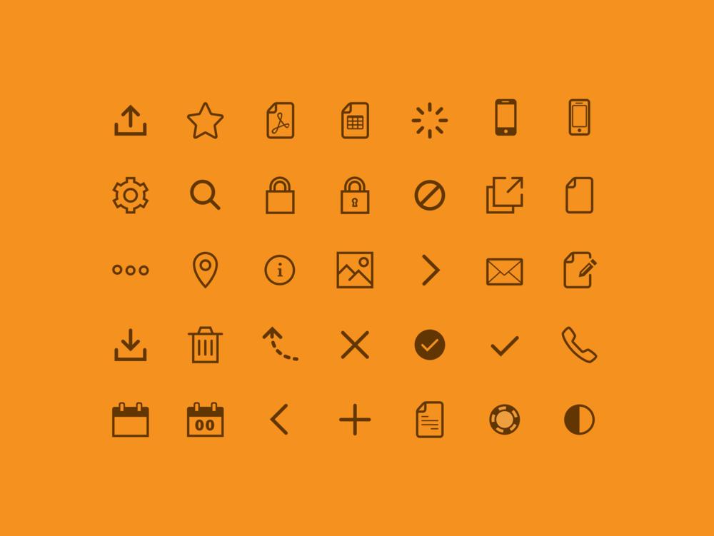 Detail:  Zenicon Icon Font