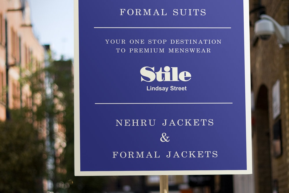 Stile  Holiday marketing & promotions for a premium menswear store. Encouraging  you to think beyond your dress code!  ___  Fashion / Retail