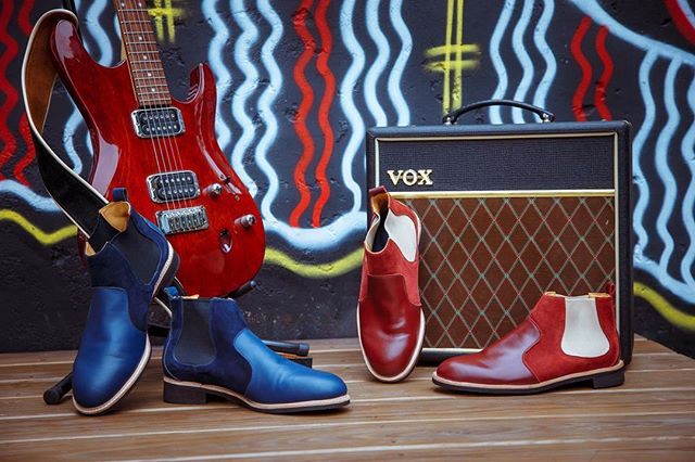 Lets roll this weekend like The Beetles or The Rolling Stones... . . . #customisableshoes #handcrafted #gentlemanstyle #designyourownshoes #kazuocraft #shoemaker #bespokeshoes #smartcasual #dandystyle #handcraftedshoes #bespokeboots #chelseaboots #shoesformen