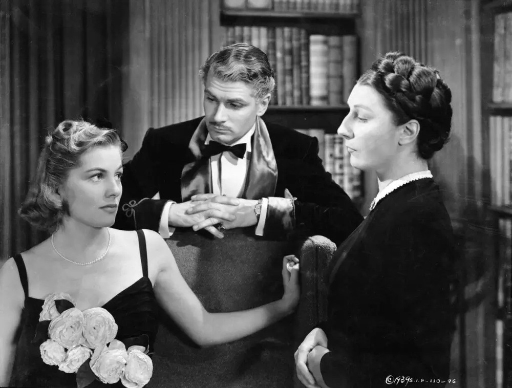 Joan Fontaine, Laurence Olivier and Judith Anderson