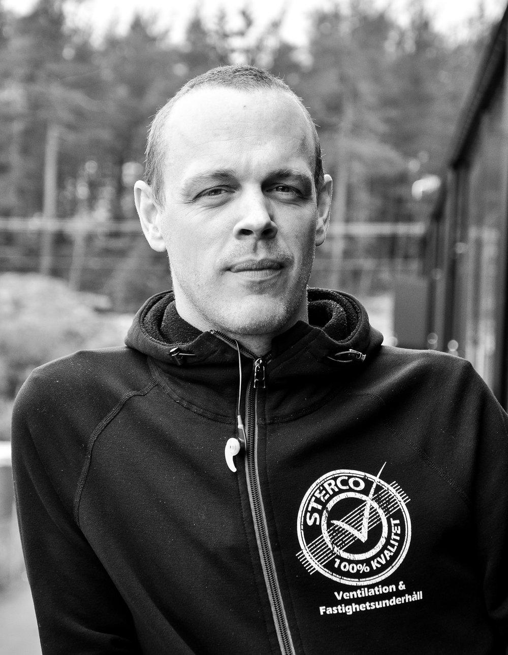 Andreas Hansson  Projektledare, Arbetschef OVK & Injustering  andreas@sterco.se  08 47 47 714