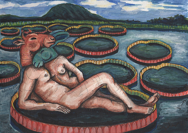Lovers with Waterlilies.png