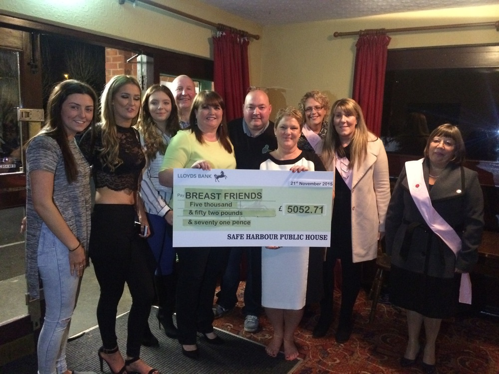 Safe Harbour raised over £5,000