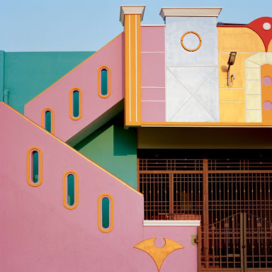 Sottsass inspired architecture -South of india