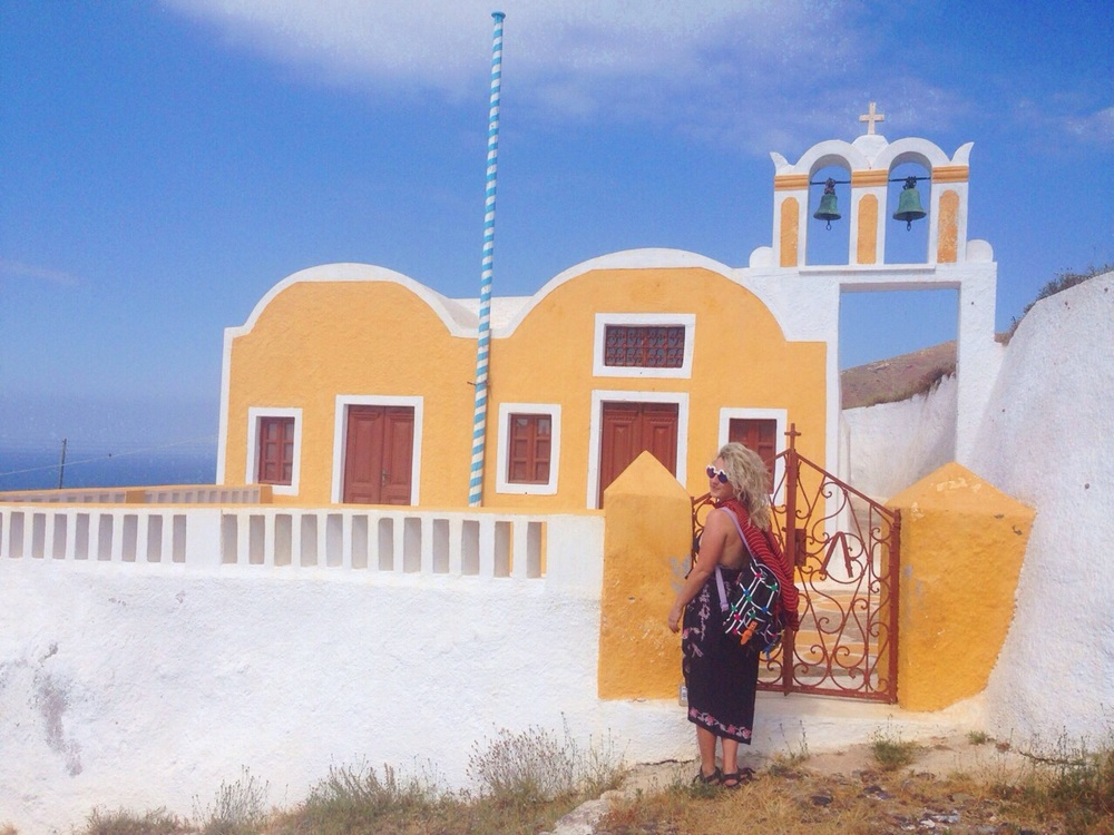 Small chapel outside of Oia