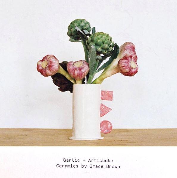 Porcelain shape vase