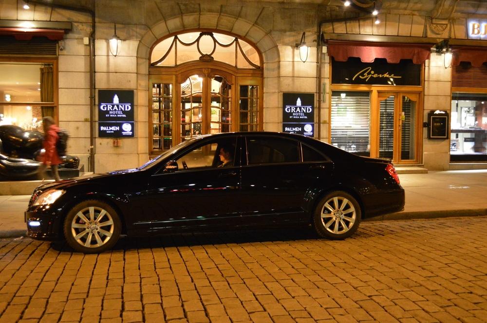 Mercedes Benz S 500 AMG