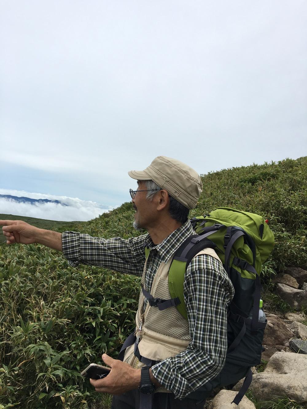 森林インストラクター、遊佐 文博さん