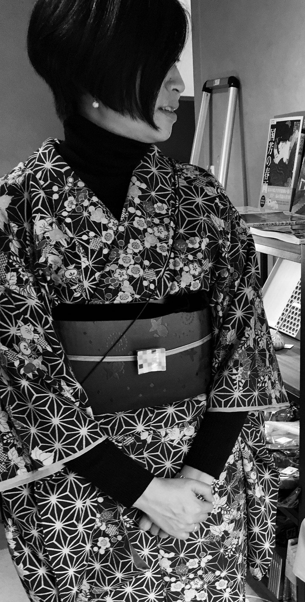 着付師:アベミチヨさん