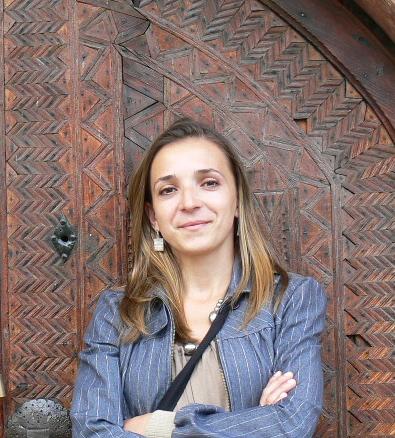 Aida Šehović in Bosnia in 2005.