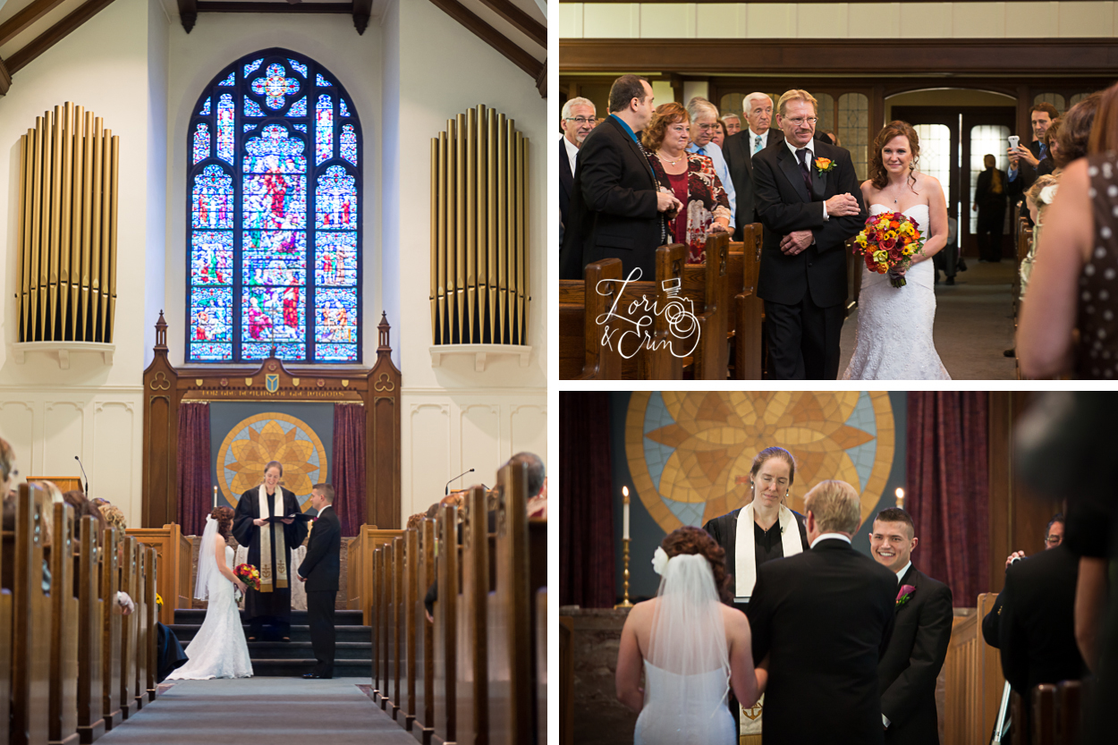 Immanuel Baptist Church Weddings, Rochester NY Wedding Photography