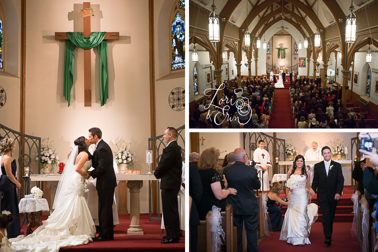 Holy Cross Church Wedding Photography, Rochester NY Wedding Photography