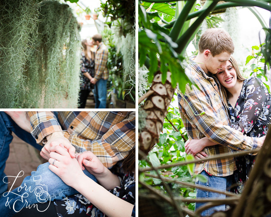 Highland Park Conservatory Engagement Session, Rochester NY Wedding Photography
