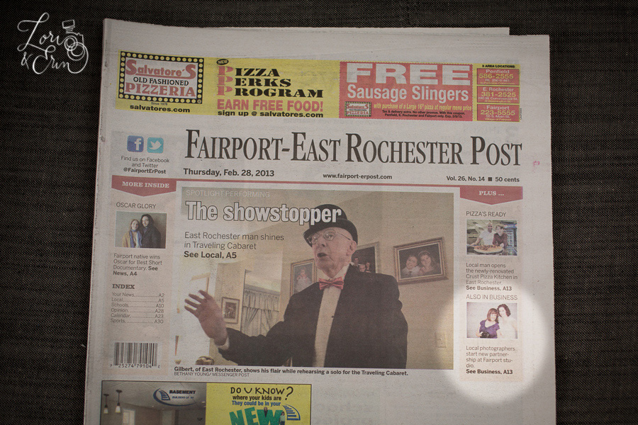 Cover of the Fairport - East Rochester Post