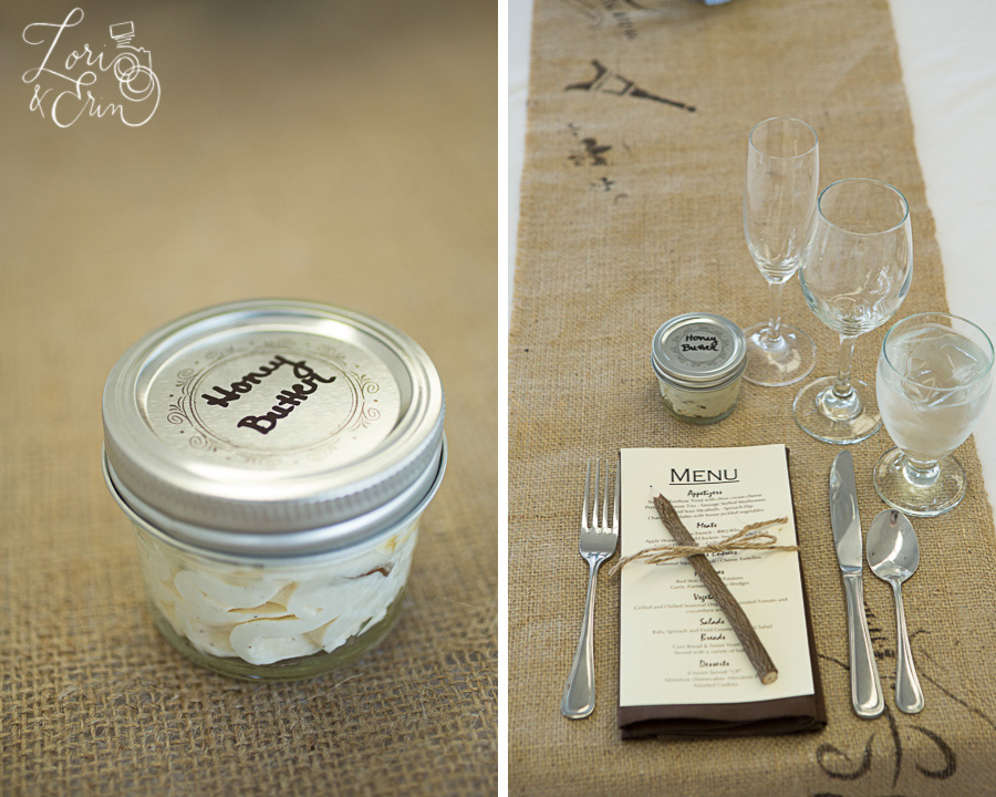favor and place setting