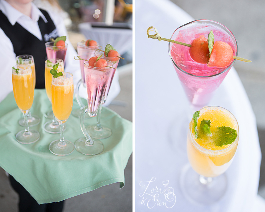 cocktails by partyman catering