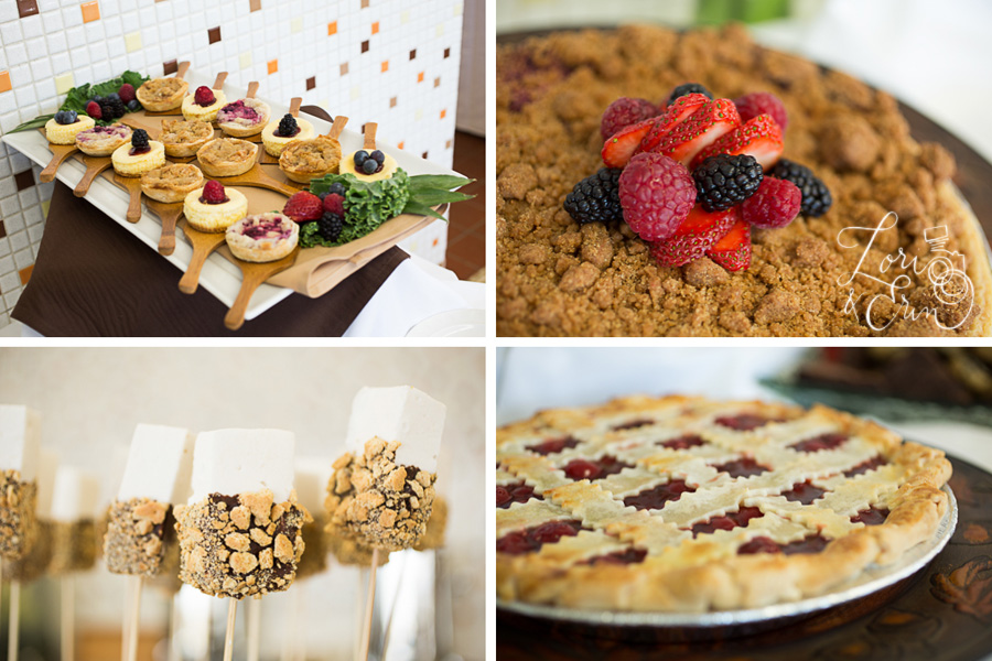 desserts by partyman catering