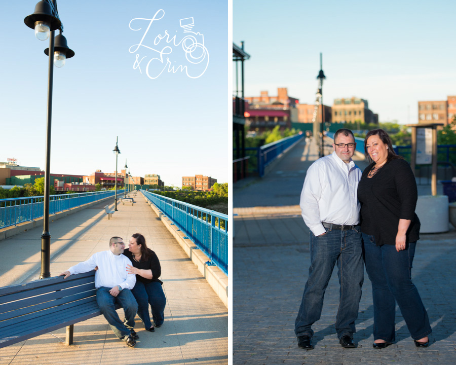 High Falls Engagement Session, Rochester NY Engagement Session