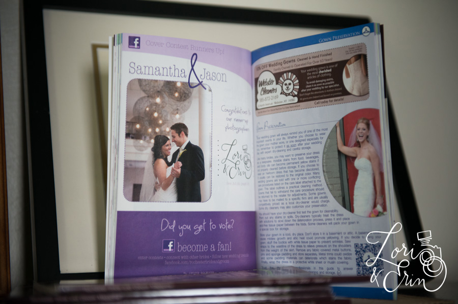 Rochester NY Wedding Photography, Rochester Bride & Groom Magazine