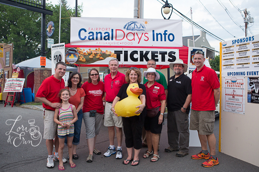fairport canal days volunteers