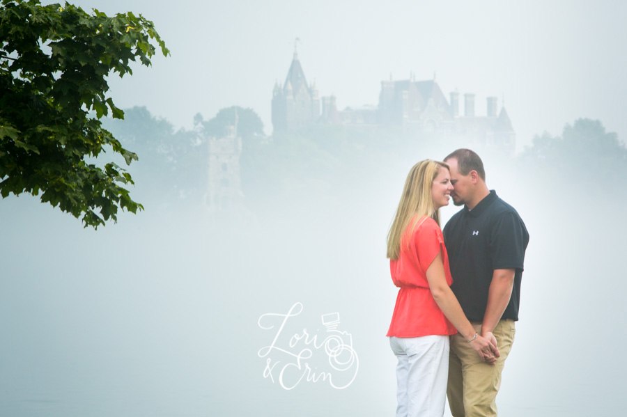 Thousand Islands Engagement Session, Alexandria Bay Engagement Session, Boldt Castle