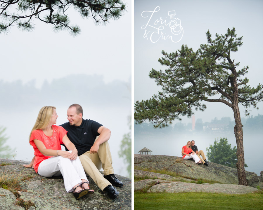 Thousand Islands Engagement Session, Alexandria Bay Engagement Session, Casino Island Engagement