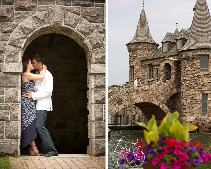 boldt castle engagement session