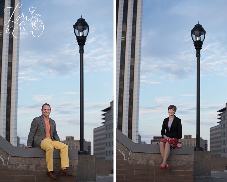 Headshots, Rochester NY city portrait session