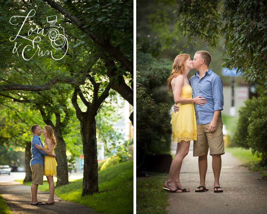Park Avenue Engagement Session, Rochester NY Engagement Session