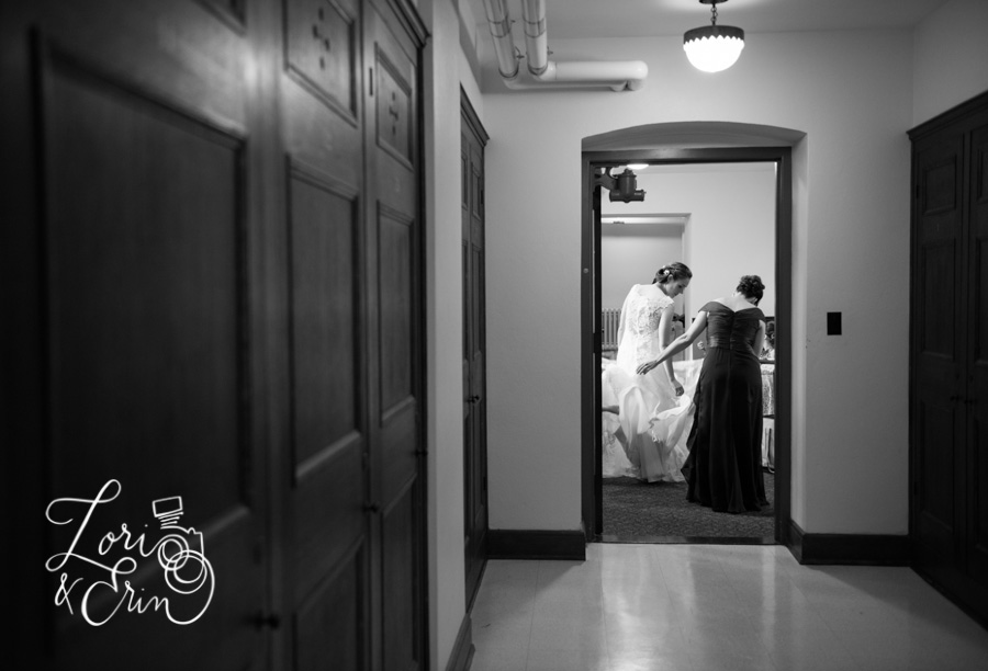 Colgate Divinity School Wedding Photography, Bride getting ready