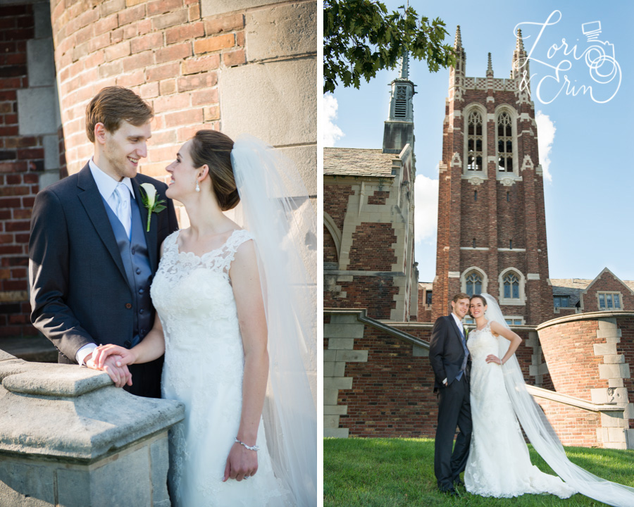 Colgate Divinity School Wedding Photography, Rochester NY Wedding Photography