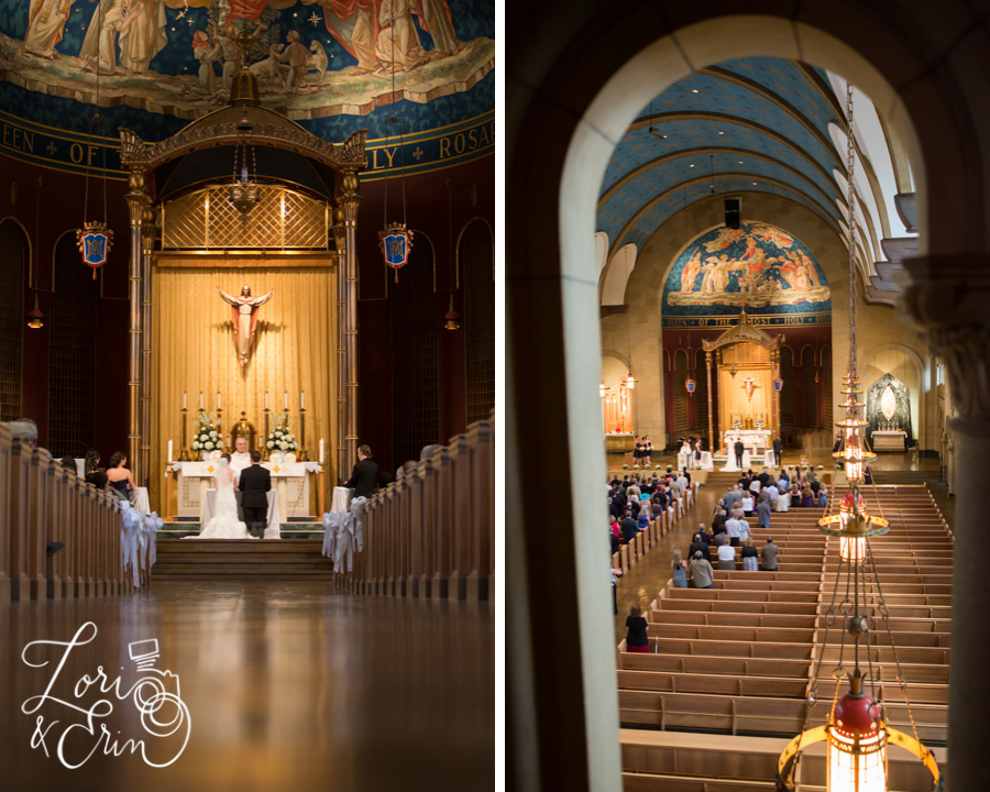 Syracuse NY Wedding Photography, Most Holy Rosary Church Syracuse NY