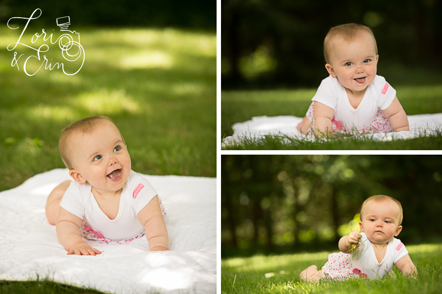 8 month old session, Rochester NY children's photography