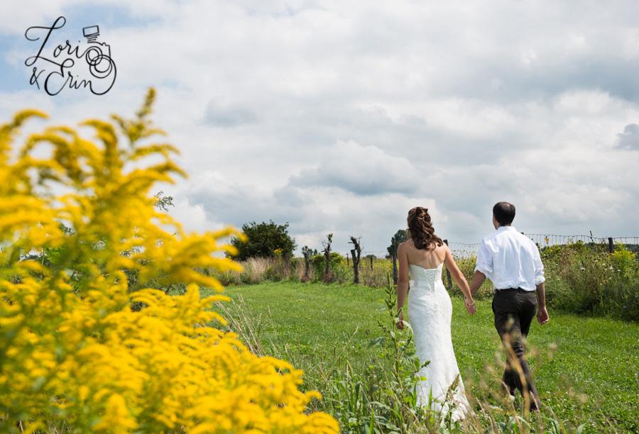 Avon NY Wedding Photography, Barn Wedding, Kindred Ground Barn Avon NY Wedding, Wedding Photographs in a field