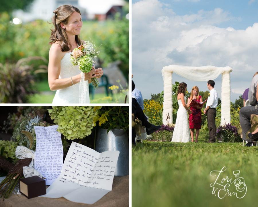 Avon NY Wedding Photography, Barn Wedding, Kindred Ground Barn Avon NY Wedding Ceremony