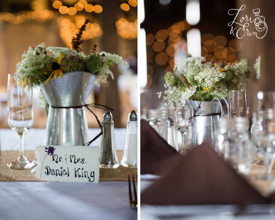 Avon NY Wedding Photography, Barn Wedding, Kindred Ground Barn Avon NY Wedding, Handmade Place cards, centerpieces