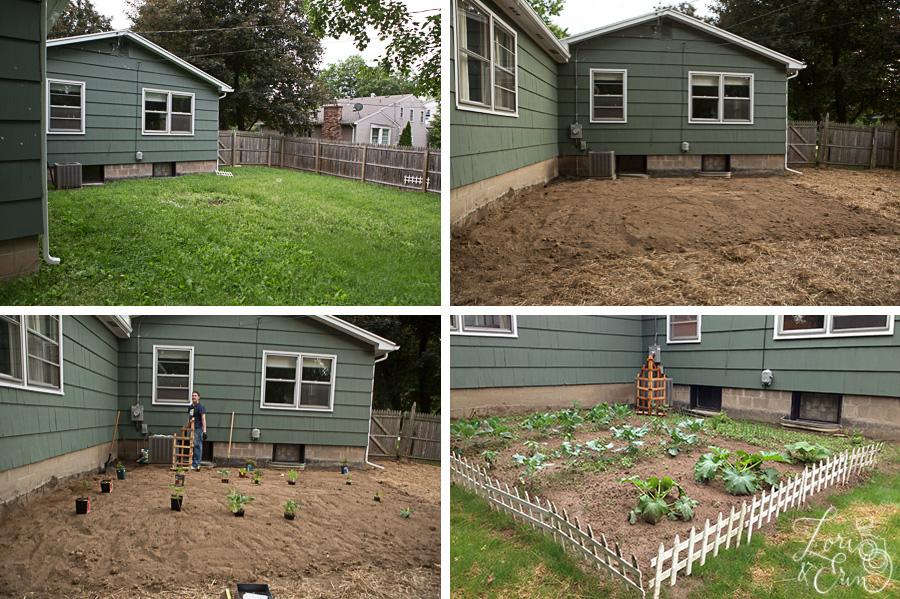 garden progression